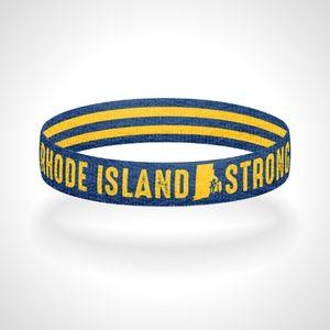 Reversible Rhode Island Strong Bracelet Wristband
